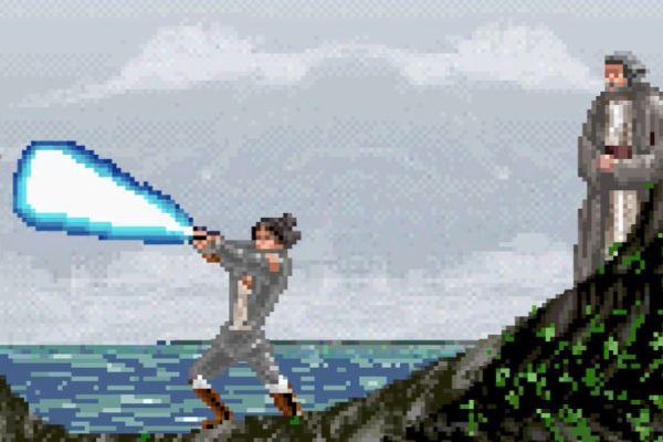 Rian Johnson e il trailer di Star Wars Episodio VIII a 8 bit
