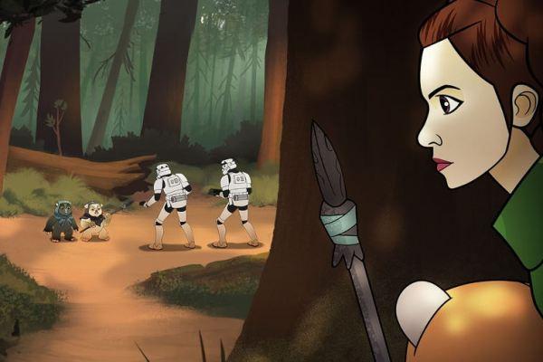 Star Wars Forces of Destiny Ep. 3 – Ewok Escape