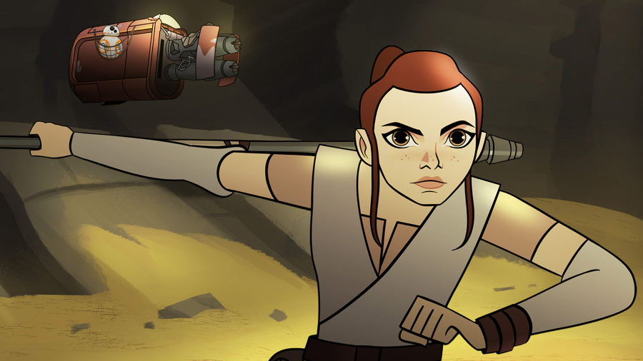 Star Wars Forces of Destiny: 1×01 Sands of Jakku
