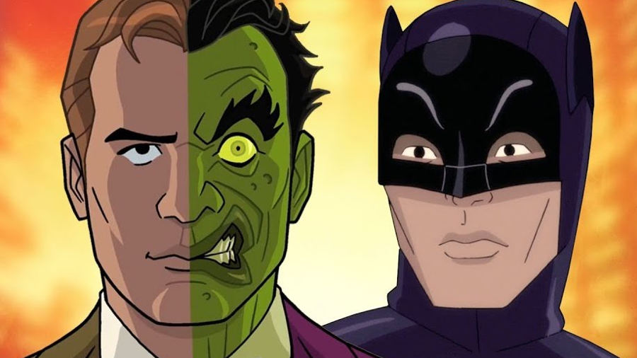 L'ultimo Batman di Adam West con William Shatner