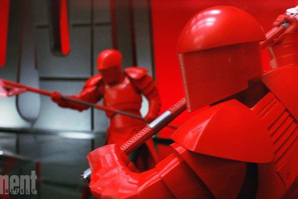 Star Wars: Rian Johnson parla del leader supremo Snoke e delle sue guardie