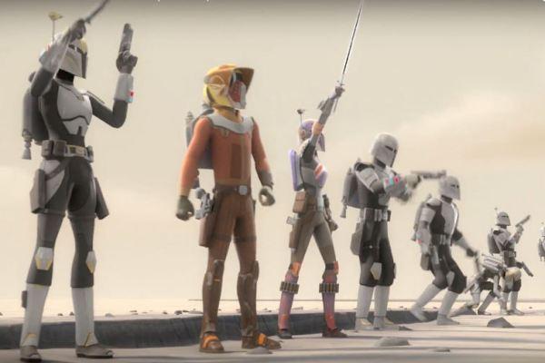 Star Wars Rebels: ecco i titoli dei primi 6 episodi della IV stagione