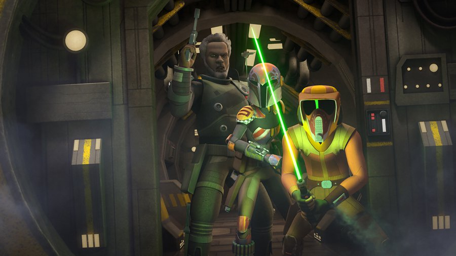 Star Wars Rebels: Saw Gerrera Vs Mon Mothma