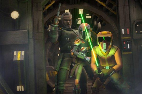 Star Wars Rebels: Saw Gerrera Vs Mon Mothma