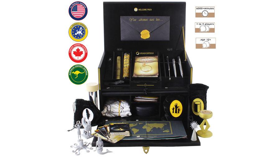 The Enigma Box su Kickstarter
