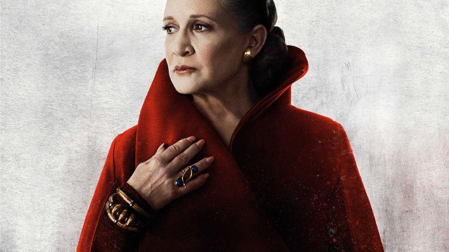 Carrie Fisher e le battute aggiuntive ne Gli ultimi Jedi