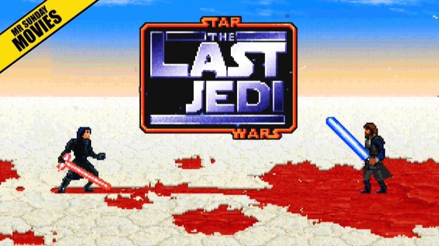 Star Wars: Il finale de Gli ultimi Jedi a 16 bit