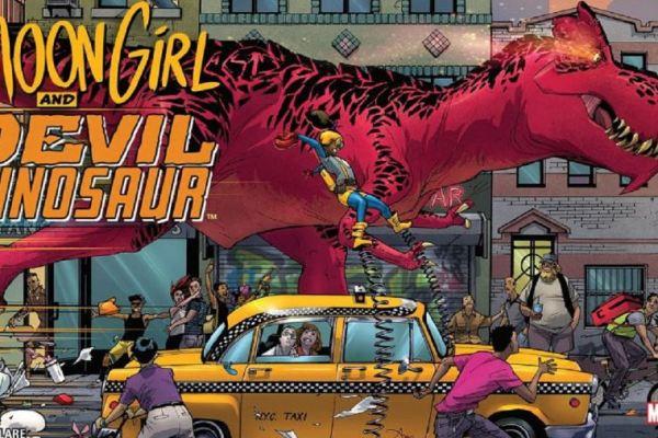 Marvel: Moon Girl and Devil Dinosaur diventa una serie TV