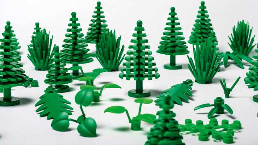 Lego lancia i mattoncini sostenibili