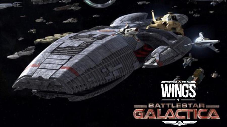 E se Ares Games stesse lavorando a un nuovo Battlestar Galactica?