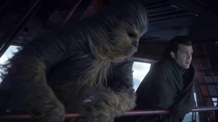 Solo: A Star Wars Story, nuovo spot, nuovi frammenti con Chewbacca
