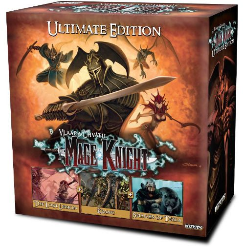 Giochi Uniti annuncia l'ultimate edition di Mage Knight