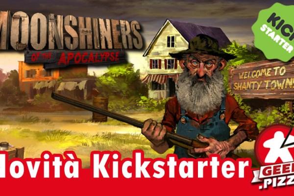 Novità Kickstarter: Moonshiners of the Apocalypse