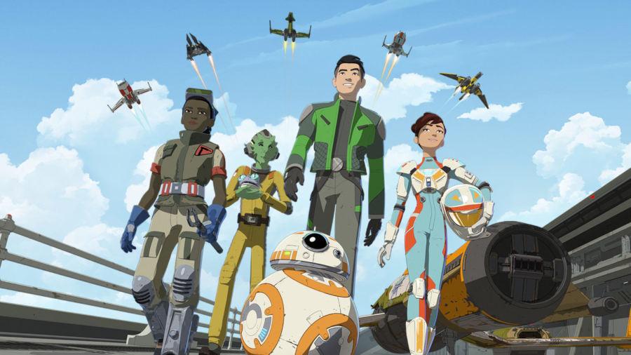 Star Wars Resistance, ecco la squadra Fireball