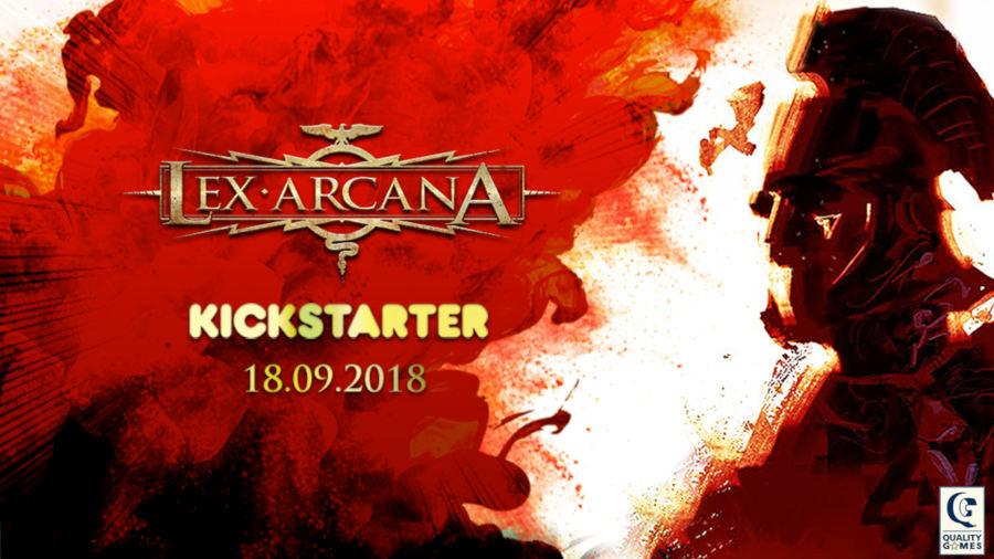 Lex Arcana su Kickstarter: Obiettivo raggiunto in meno di due ore!