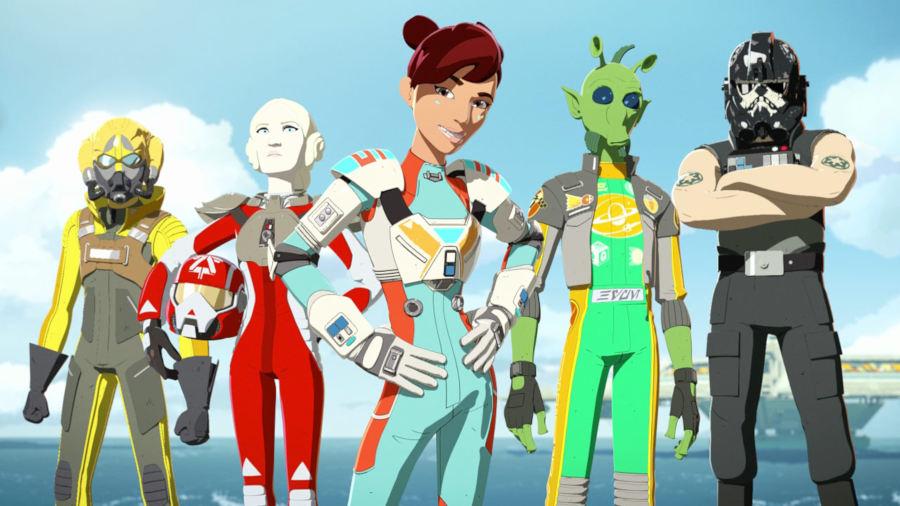 Star Wars Resistance: The Aces, ecco gli assi della nuova serie animata