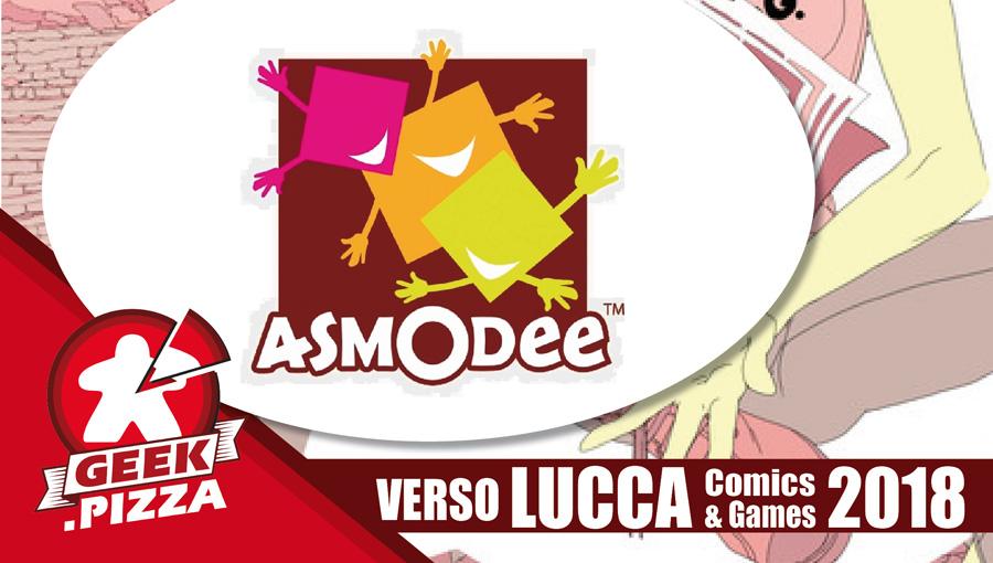 Verso Lucca Comics & Games 2018 – Asmodee