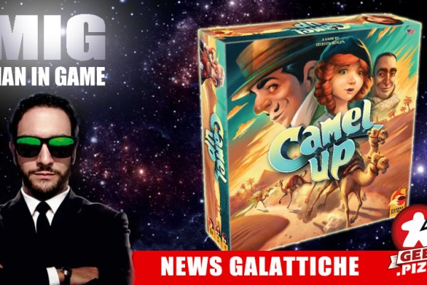 MIG News Galattiche: Camel Up – 2nd Edition