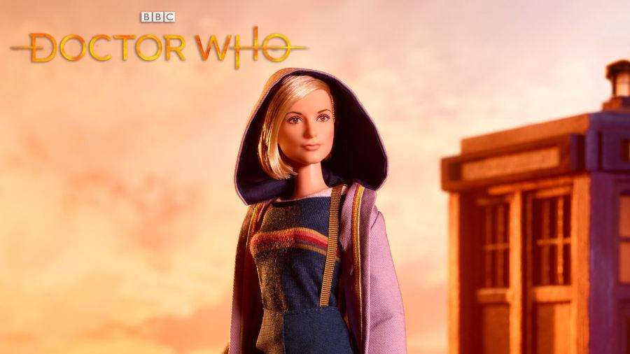 Il Dottore di Jodie Whittaker diventa una Barbie