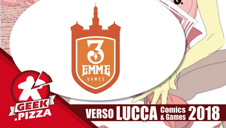 Verso Lucca Comics & Games 2018 – 3 Emme Games