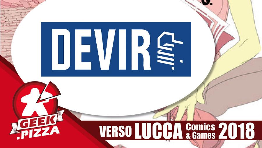 Verso Lucca Comics & Games 2018 – Devir