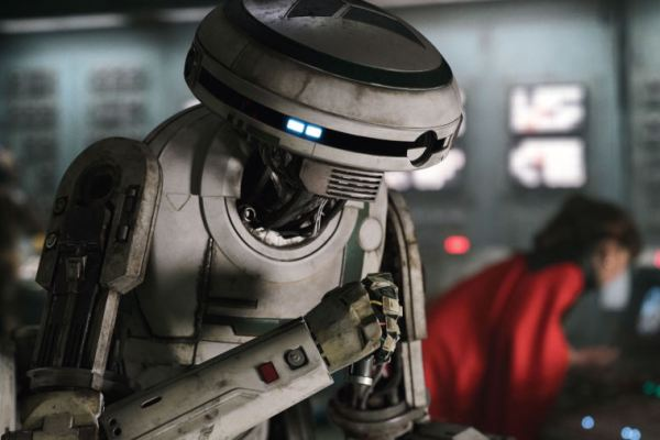 Ecco come è stata creata L3-37 in Solo: A Star Wars Story