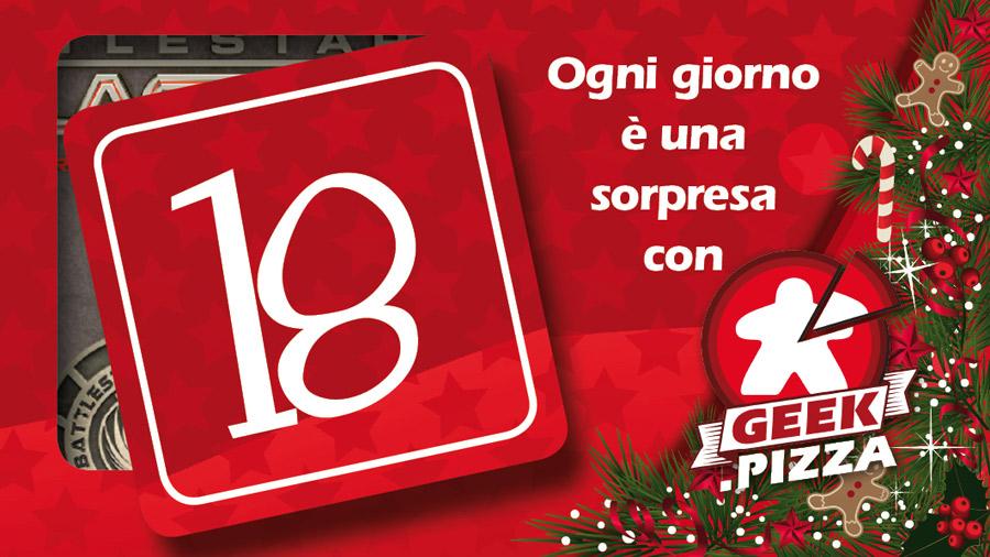 Il calendario dell'Avvento di Geek Pizza – 18 Battlestar Galactica in regalo e una promo esclusiva!
