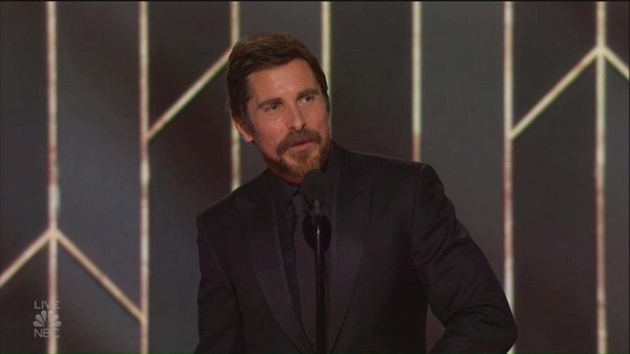 Christian Bale vince il Golden Globe e ringrazia Satana!