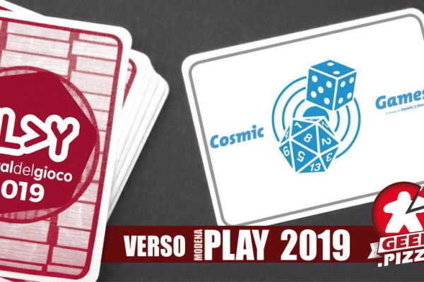 Verso Play 2019 – Cosmic Games