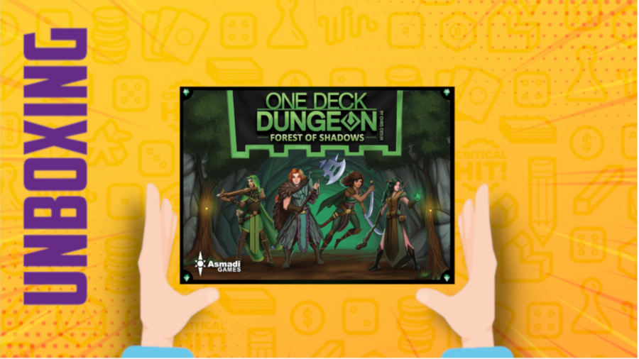 One Deck Dungeon: La Foresta delle Ombre – Unboxing