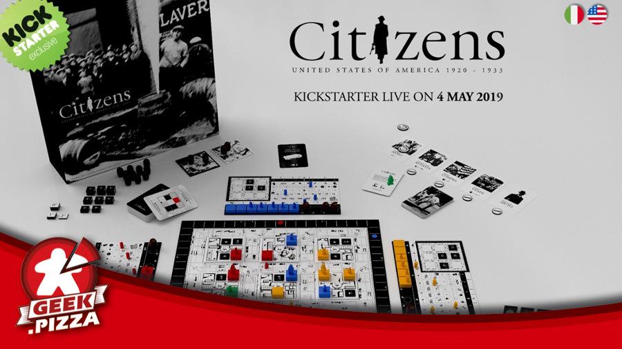 Citizens – al via la campagna Kickstarter