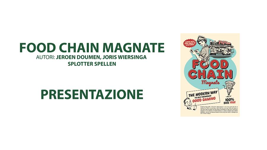 Food Chain Magnate – Presentazione di Fustella Rotante