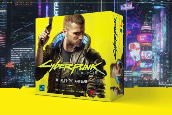 Cyberpunk 2077 – Afterlife: The Card Game annunciato alla GenCon 2019