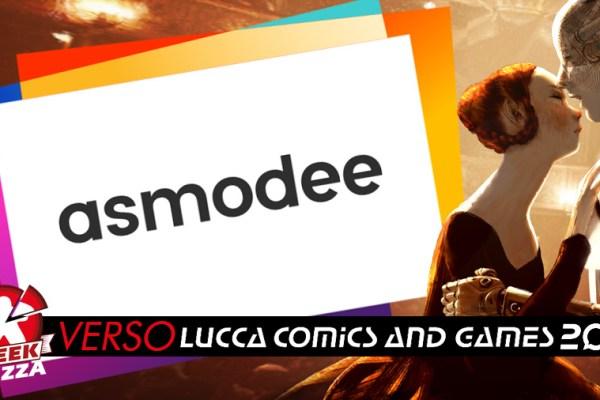 Verso Lucca Comics & Games: Asmodee Italia