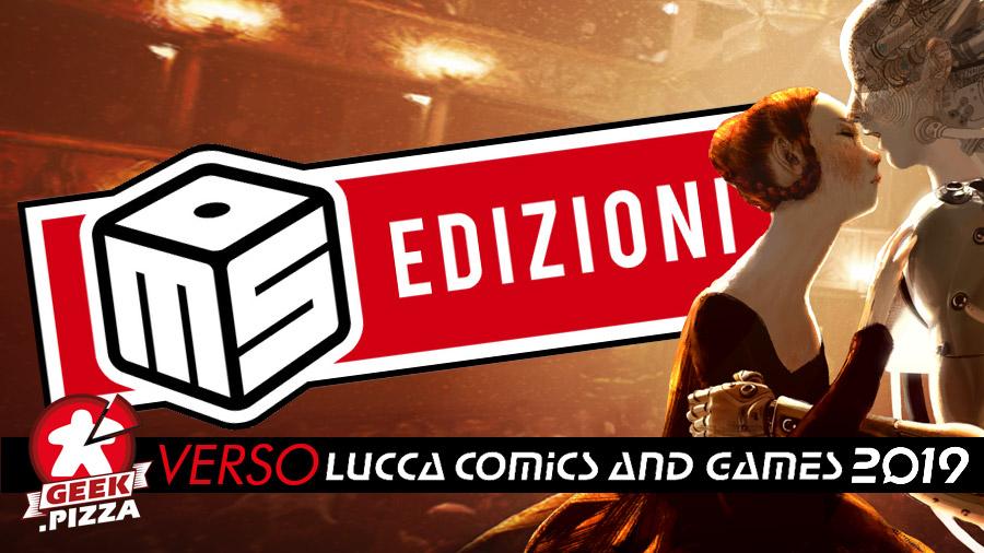 Verso Lucca Comics & Games 2019: MS Edizioni