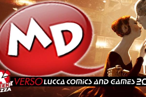 Verso Lucca Comics & Games 2019: Manicomix – Ravensburger – Studio SuperNova