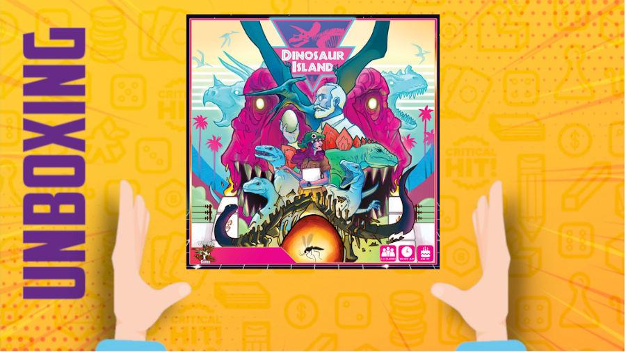 Dinosaur Island – Unboxing