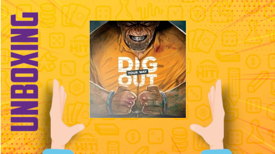 Dig your way out – Unboxing