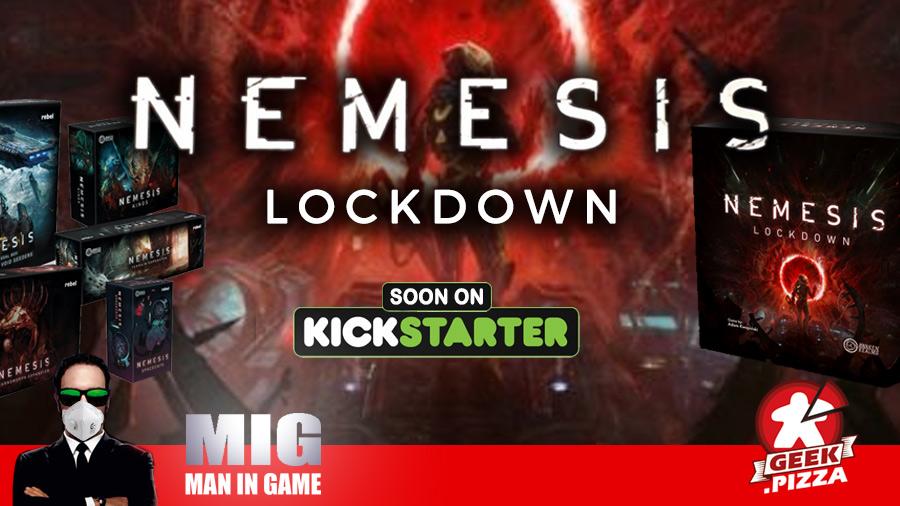 MIG Novità Kickstarter: Nemesis – Lockdown, il prossimo progetto di Awaken Realms