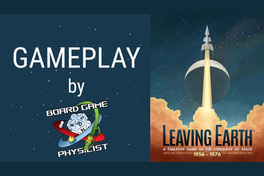 Leaving Earth – Partita completa in solitario
