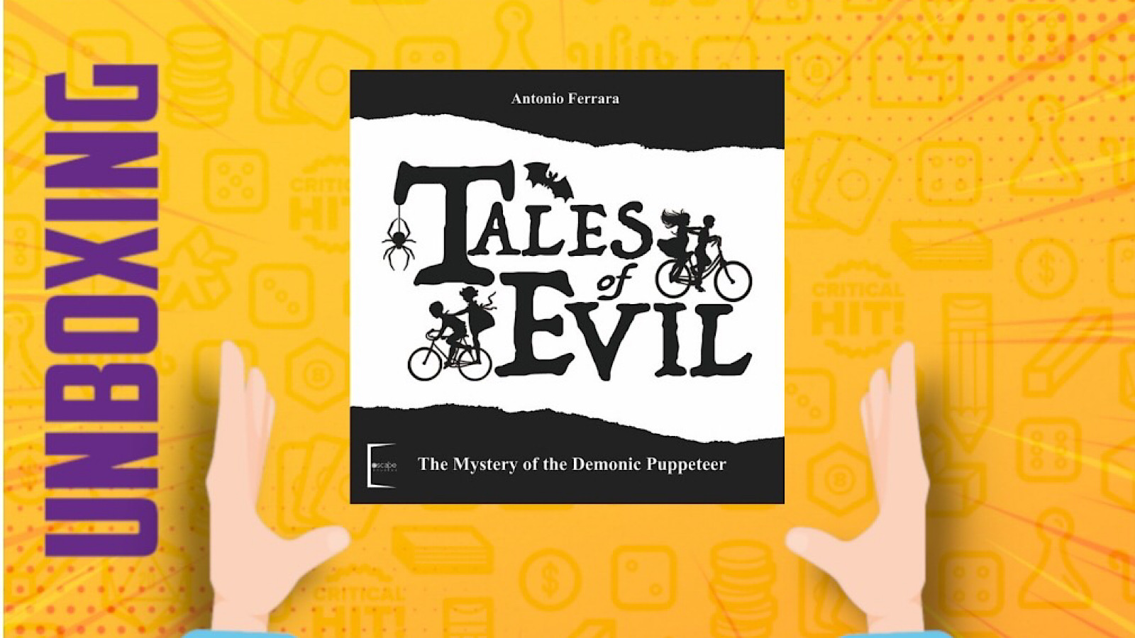 Tales of Evil (kickstarter All-in) – Unboxing