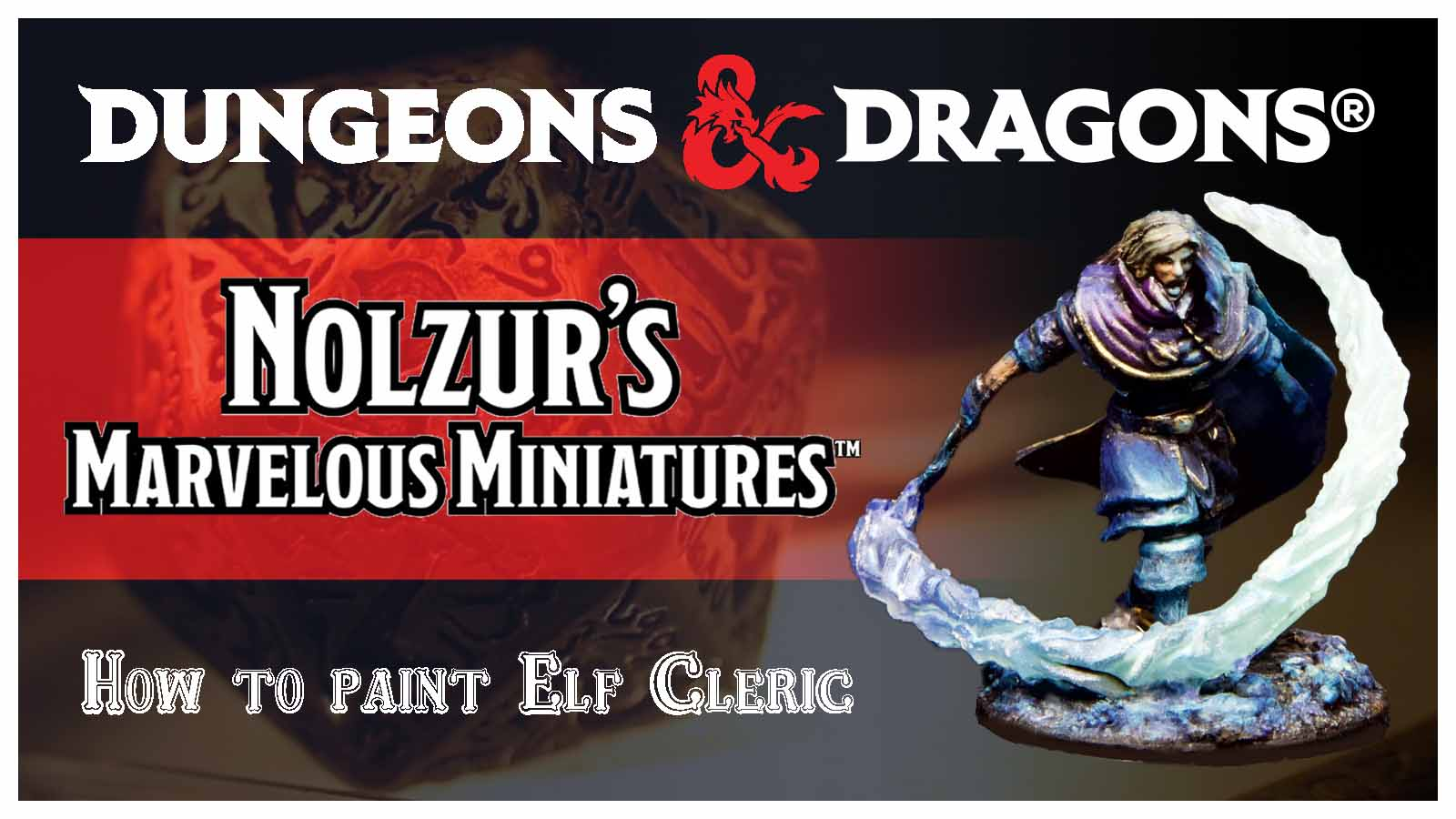 Kiki's Miniatures Mania – Dungeons & Dragons – Come dipingere l'Elfo Chierico
