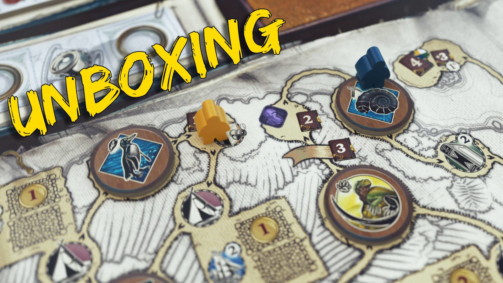 Darwin's Journey… Unboxing!?
