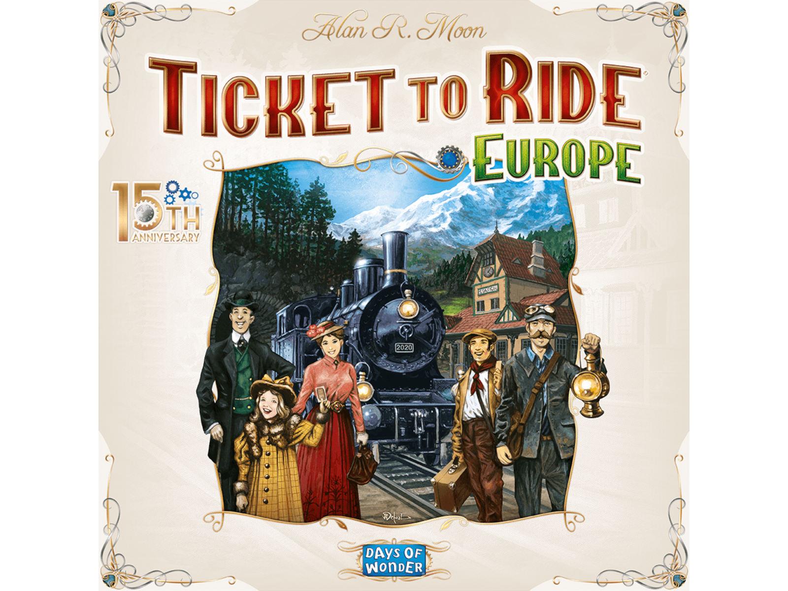 Un'edizione deluxe per i 15 anni di Ticket To Ride Europa