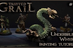 Kiki's Miniatures Mania – Tainted Grail ep.11 – Come dipingere l'Underbrush Wyrm
