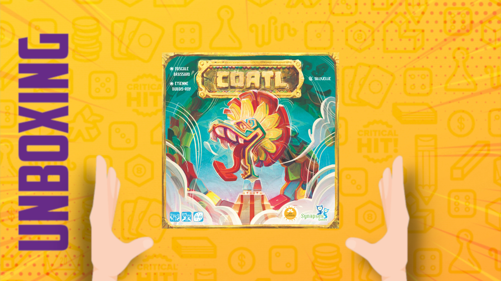 Coatl – Unboxing