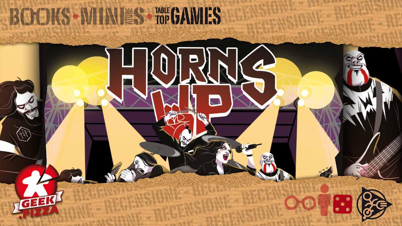 La Ludografica: Horns Up