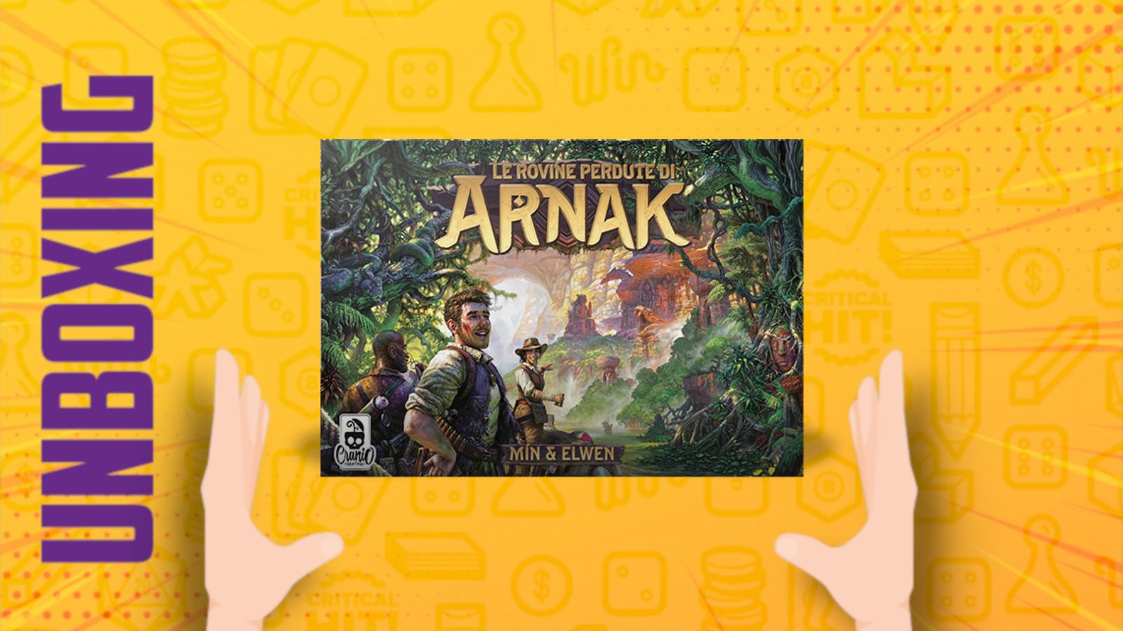 Le rovine perdute di Arnak – Unboxing