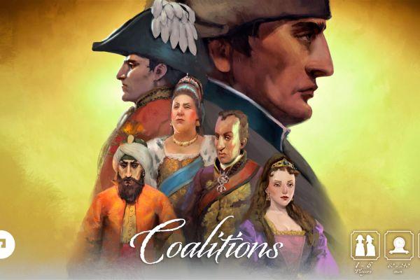 Coalitions: possibile la localizzazione in italiano del gioco ora su Kickstarter!