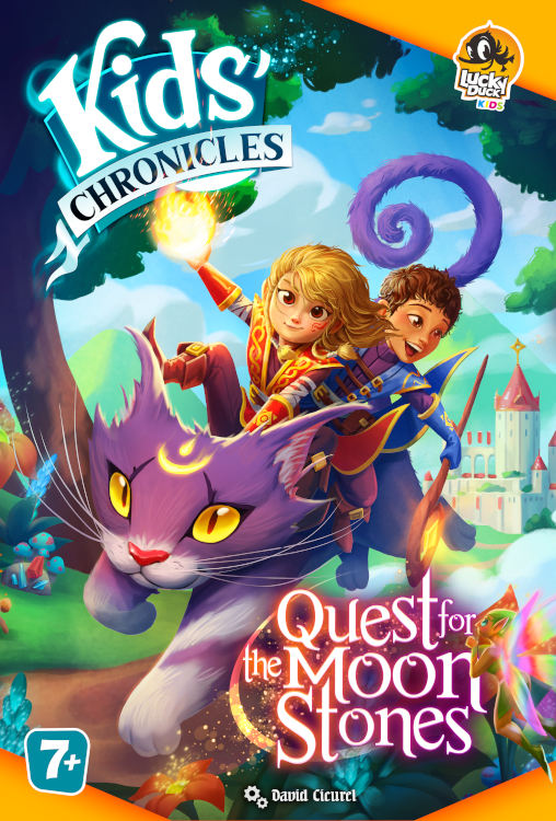 Kids Chronicles: Quest for the Moon Stones - copertina